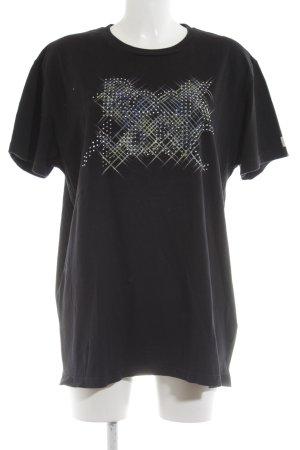 Scotch & Soda T-Shirt schwarz Motivdruck Casual-Look