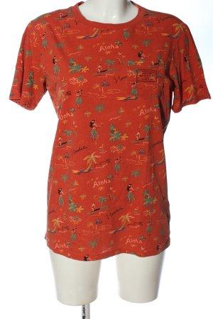 Scotch & Soda T-Shirt Allover-Druck Casual-Look