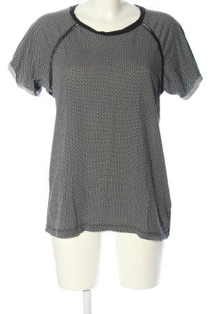 Scotch & Soda T-Shirt schwarz-hellgrau Allover-Druck Casual-Look