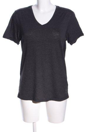 Scotch & Soda T-Shirt schwarz meliert Casual-Look