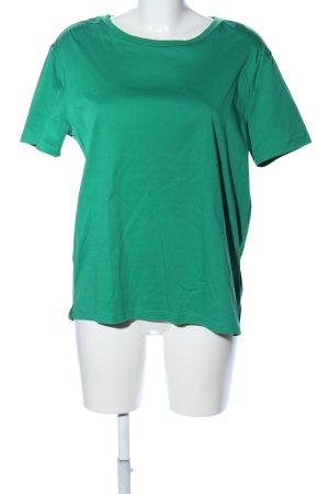 Scotch & Soda T-Shirt grün Schriftzug gedruckt Casual-Look