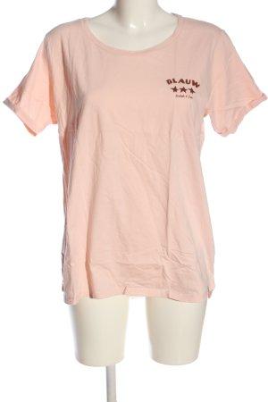 Scotch & Soda T-Shirt creme-braun Motivdruck Casual-Look
