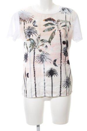Scotch & Soda T-Shirt abstraktes Muster Casual-Look