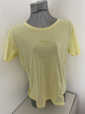 Scotch & Soda, T-Shirt, pastellgelb, neu mit Etikett, Gr. M