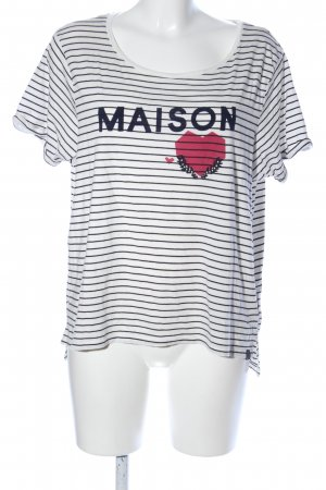 Scotch & Soda T-Shirt Schriftzug gedruckt Casual-Look