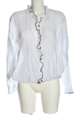 Scotch & Soda Transparent Blouse white casual look