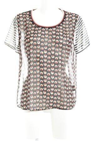 Scotch & Soda Transparenz-Bluse mehrfarbig extravaganter Stil