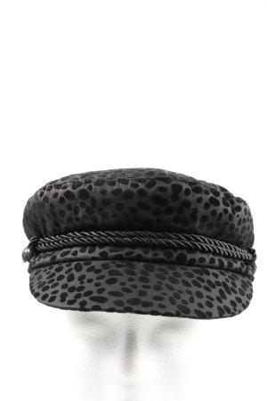 Scoth & Soda Visor Cap black graphic pattern casual look