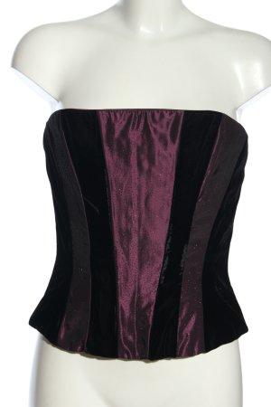 Scott McClintock Camisole rose-noir élégant