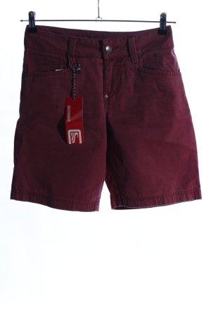 Scott Shorts rot Casual-Look