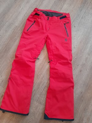 Scott Snow Pants salmon-bright red