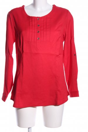 Scottage Kurzarm-Bluse rot Casual-Look