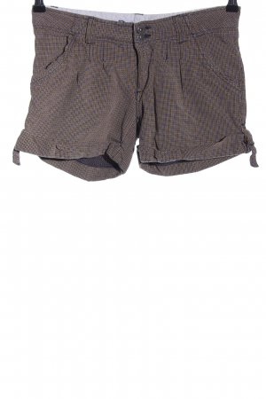 SCOUT Shorts braun Allover-Druck Casual-Look