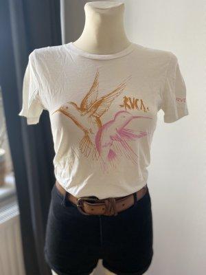 RVCA T-Shirt multicolored cotton