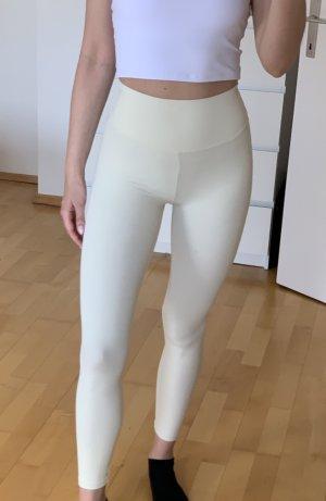 Scrunch Bum Leggings in Ivory Gr. M