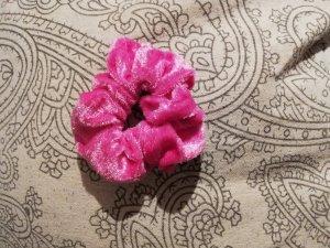 Cinta para el pelo rosa neón