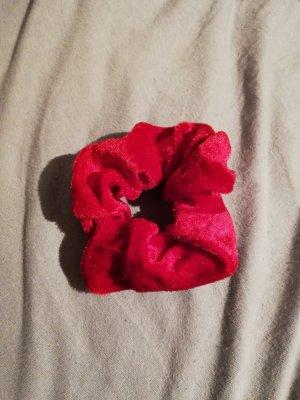 Cinta para el pelo rojo frambuesa