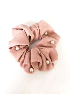 Ribbon dusky pink-white