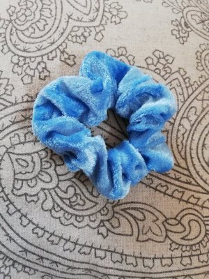Cinta para el pelo azul celeste-azul aciano