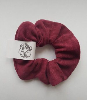 Handmade Wstążka do włosów bordo-ciemnoczerwony