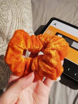 Bandeau cheveux orange foncé
