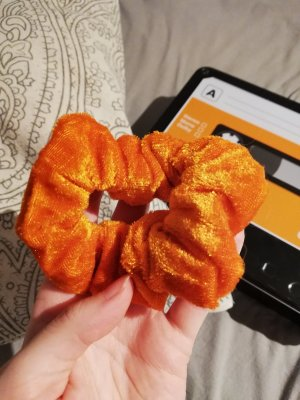 Cinta para el pelo naranja oscuro