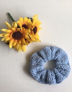 handmade Ribbon light blue