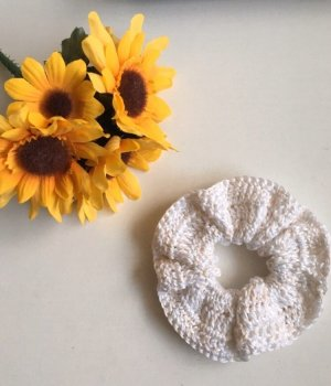 handmade Ribbon white-primrose