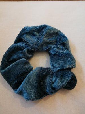 Vintage Bandeau cheveux bleu-bleu pétrole