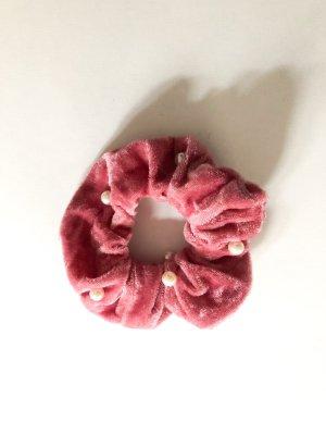 Bandeau cheveux rose-blanc