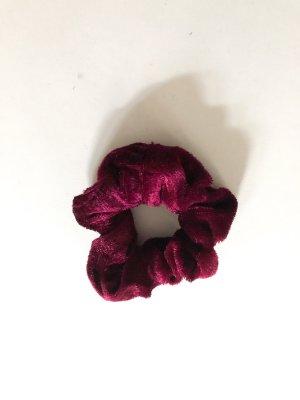 Bandeau cheveux bordeau-violet