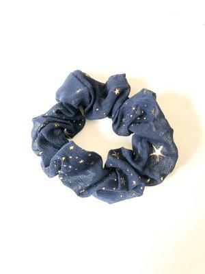 Ribbon dark blue-gold-colored