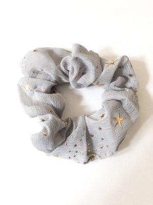 Ribbon light grey-gold-colored