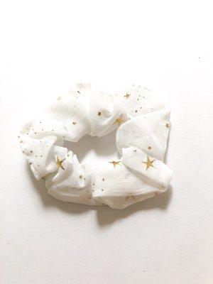 Ribbon white-gold-colored