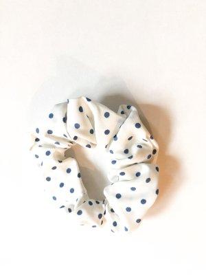 Ribbon white-steel blue
