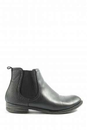SDS Chelsea Boots schwarz Allover-Druck Casual-Look