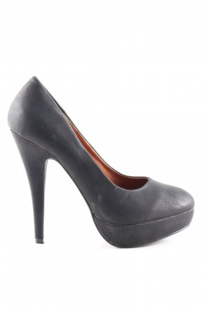 SDS High Heels schwarz Casual-Look