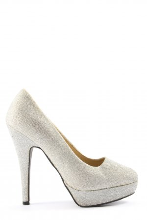 SDS High Heels hellgrau Casual-Look
