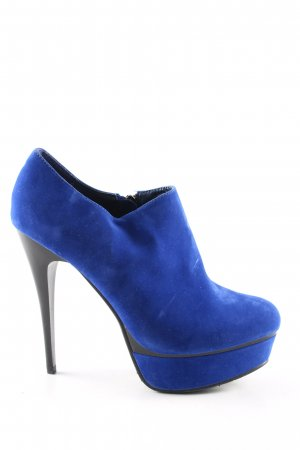 SDS Hochfront-Pumps blau Business-Look
