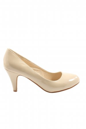 SDS Hochfront-Pumps creme Business-Look