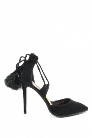 SDS Riemchen-Sandaletten schwarz Casual-Look