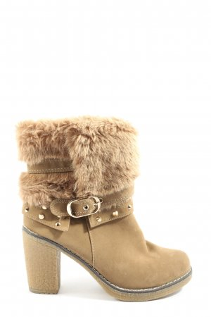 SDS Winter-Stiefeletten nude Casual-Look