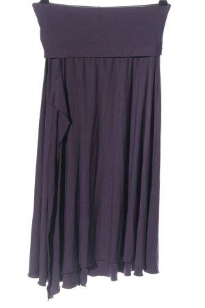 Seafolly Asymmetry Skirt lilac casual look