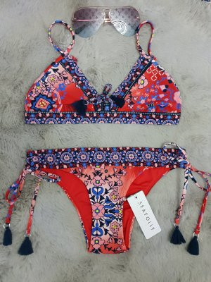Seafolly Bikini dark red-dark blue