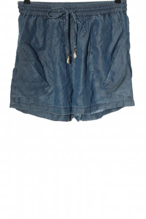 Seafolly Hot Pants blue casual look