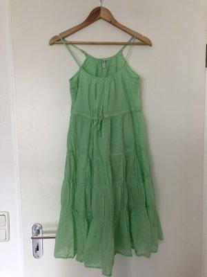 Seafolly Vestido babydoll verde pálido