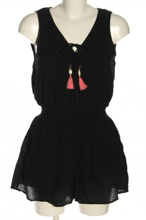 Seafolly Kurzer Jumpsuit black-red casual look
