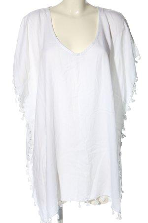 Seafolly Blusa ancha blanco look casual