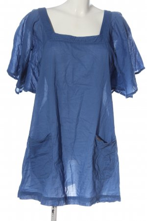 Seafolly Slip-over Blouse blue casual look