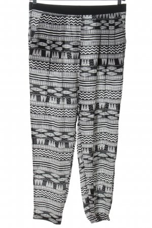 Seafolly Jersey Pants black-white allover print casual look